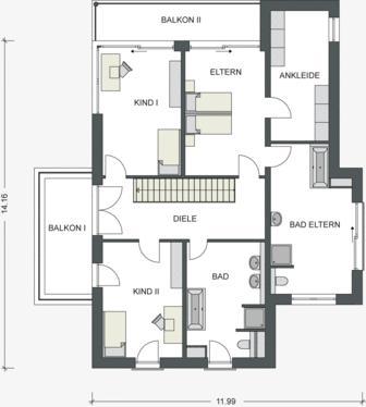 Bauhaus immobilienvertrieb dresden immobilien hausbau for Architektenhaus bauhausstil